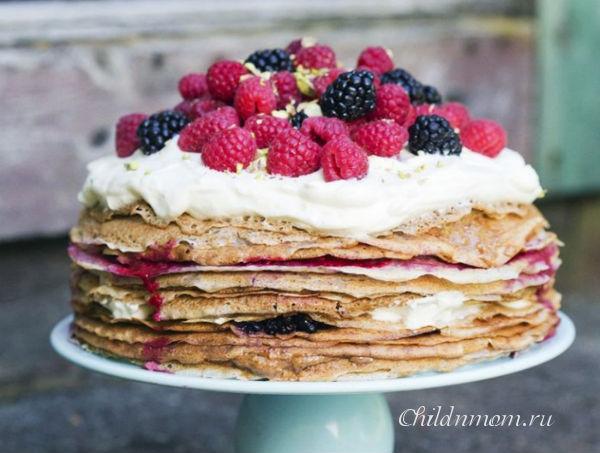 Домашние торты для детей