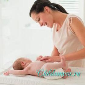 Шелушение кожи у новорождённых