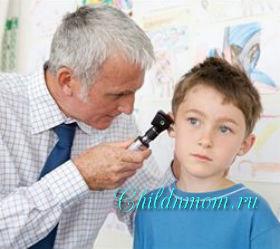 Нарушения слуха у детей