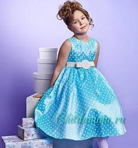 Платье на выпускной в детский садик своими руками
