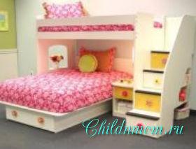 Детский уголок с кроватью