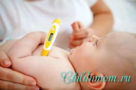 Какую температуру надо сбивать ребенку до года