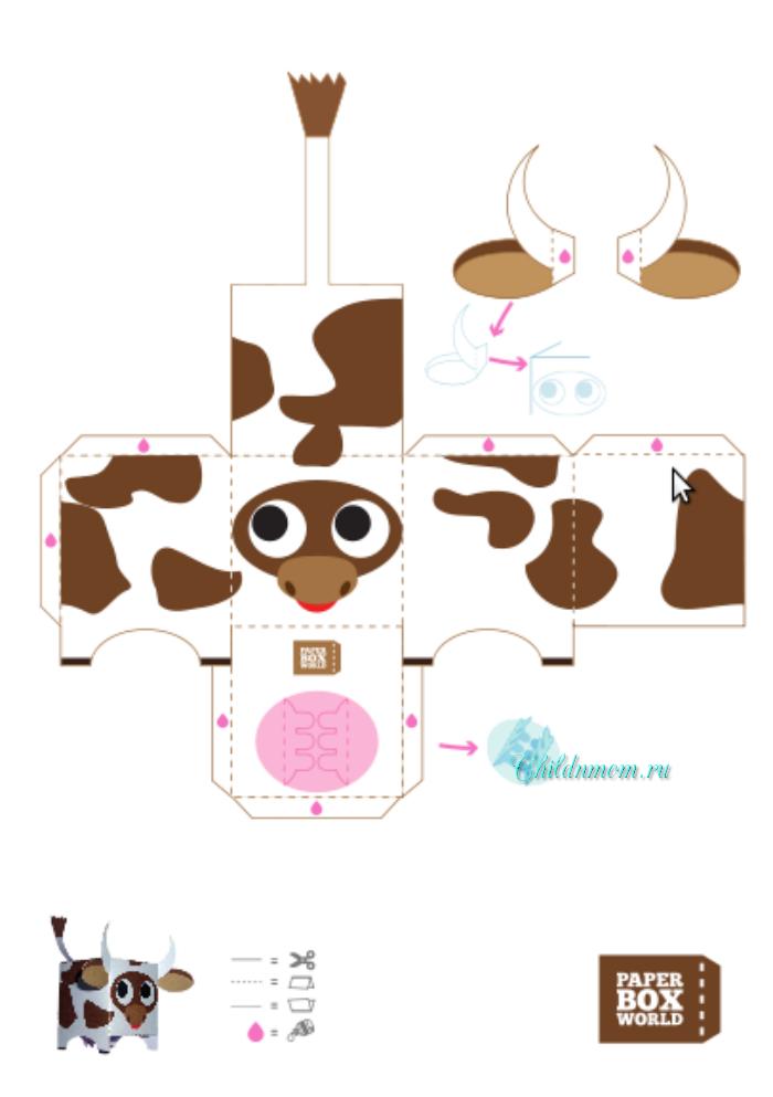 Поделки своими руками корову
