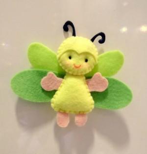 Бабочки из фетра: шаблоны